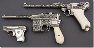 Amoskeag-6393-171-Shostle-engraved-Luger-etc