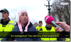 Pig-hat-arrest