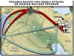 israel-iran-attack-possible-routes