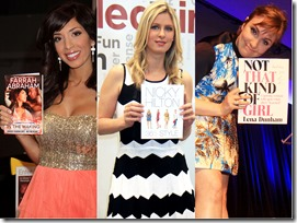 booksFarrah-Abraham-Nicky-Hilton-Lena-Dunham-at-BookExpo