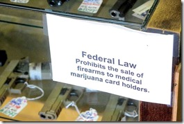medical marijuana guns