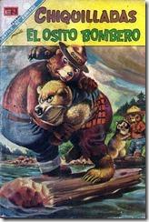 CHIQUILLADAS-246-SMOKEY-BEAR-MEXICAN-COMIC-SPANISH-NOVARO-1969