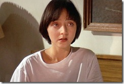 "The movie ""Pulp Fiction"", directed by Quentin Tarantino. Seen here, Maria de Medeiros as Fabienne. Initial USA theatrical wide release October 14, 1994.  Screen capture. © 1994 Miramax Films. Credit: © 1994 Miramax Films / Flickr / Courtesy Pikturz. 
