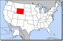map_of_usa_highlighting_wyoming