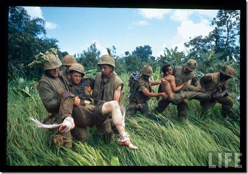 life magazine photo of marines in vietnam