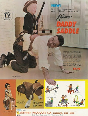 Daddy Saddle
