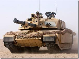 British-Challenger-Tank