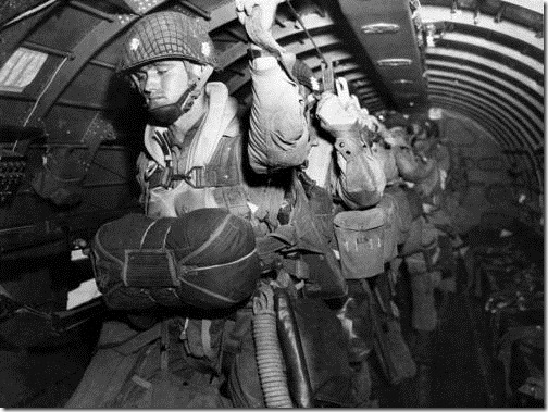 WWII U.S. PARATROOPS D-DAY