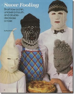 knitting masks