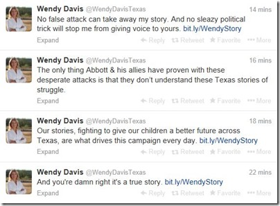 Wendy-Davis-Twitter-Stream-Jan-21-2014