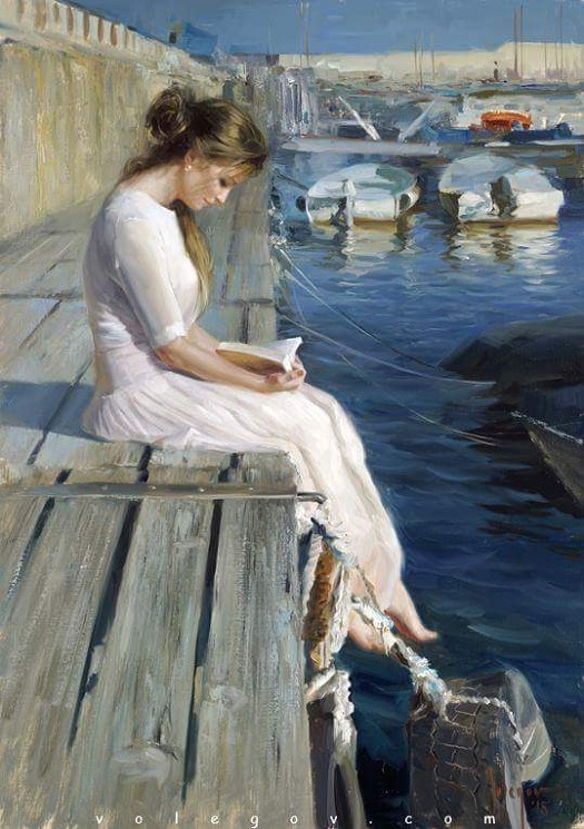 At pier of Blanes - Vladimir Volegov.jpg