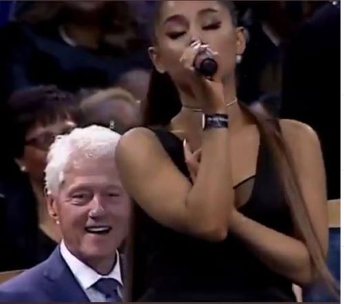 Bill Clinton at a Funeral.JPG