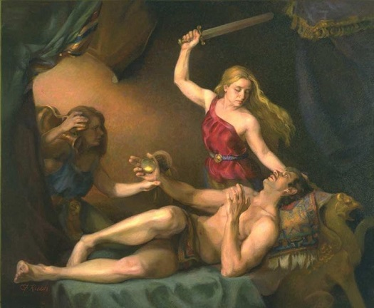 Claudia Rush - Judith Cutting Off the Head of Holofernes_525.jpg