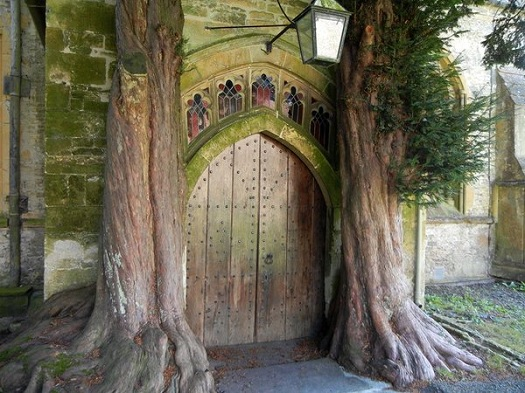 Gloucestershire church door.jpg