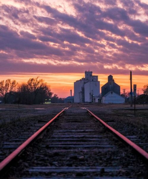 Grain Elevator Sunset.JPG