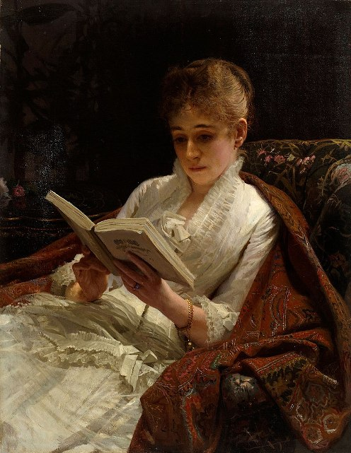 Kramskoi woman reading.JPG