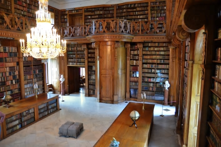 Library of Festetics Palace Keszthely Hungary.jpg