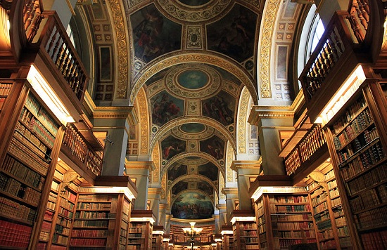 Library of the National Assembly, Palais Bourbon, Paris.jpg