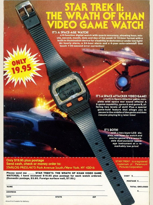 Star Trek II watch.JPG