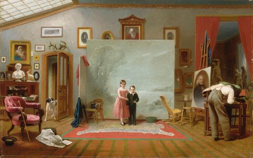 Thomas_Le_Clear_-_Interior_with_Portraits.jpg