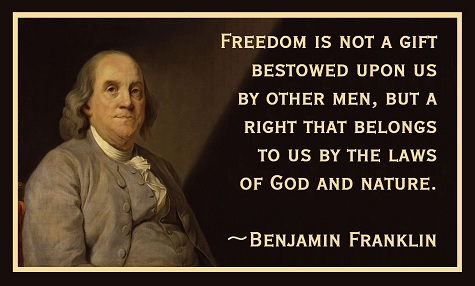 ben franklin - freedom comes from God.jpg