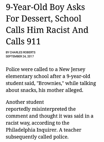 brownies are racist, call 911.jpg