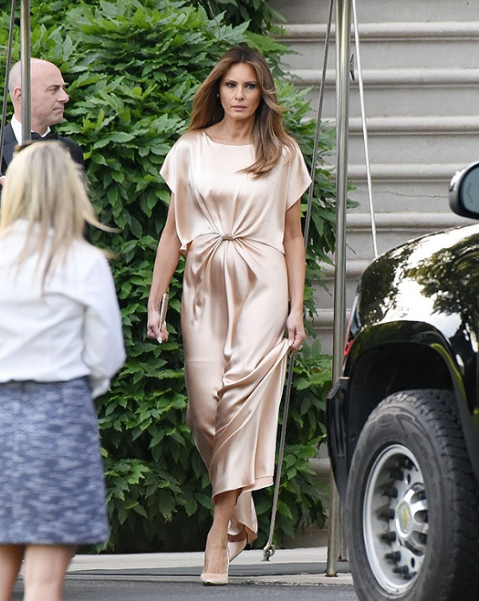 melania gold dress.jpg