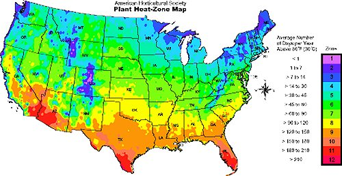 Heat Zone Map By Zip Code